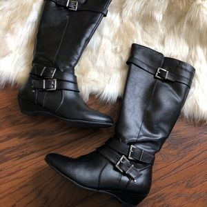 Shi by Journerys Faux Leather Boots 7